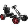 Black Off Road Pirate Style Kids Pedal Go Kart