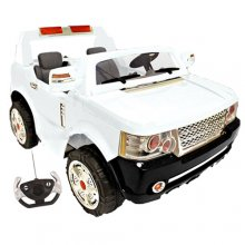 XL 24v Ice White 2 Seater Range Style Kids Jeep