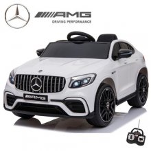 Licensed 2019 Mercedes GLC63S White 12v SUV Ride On