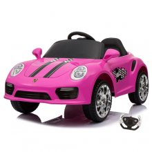 Pink Porsche 911 Carrera Style 12v Kids Ride On Car