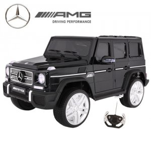 12v Elite Licensed Black Mercedes SUV with Custom Bodywork