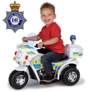 6v Kids Ride On Emergency Services Police Motorbike
