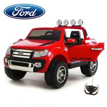 Official Ford Ranger Red EVA Electric Ride On 12v Jeep