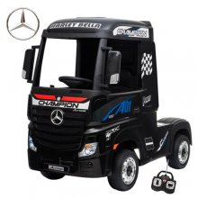 Licensed Black Mercedes 12V Arctic Truck Ride in Lorry