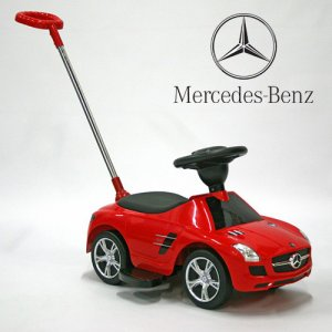 Official Mercedes SLS Push Stroller Toddlers Ride On Car