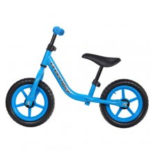 Kids Fun BMX Style Blue Balance Bike