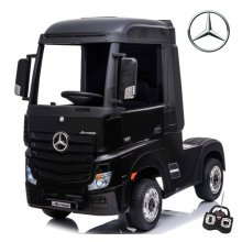 Licensed Black Mercedes Actros 24v Ride On Kids Lorry