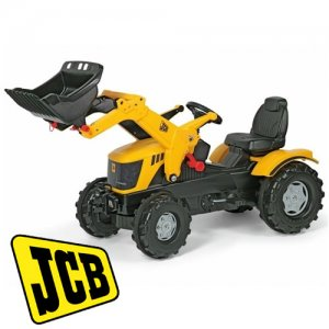 Kids JCB Pedal Tractor with Digger Loader