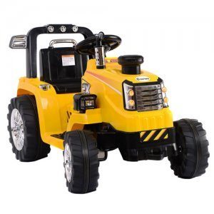 12v Kids Electric Ride On Tractor with Chunky Wheels