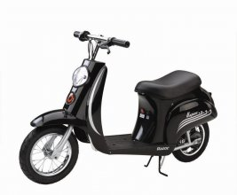 Razor Black Vintage 24v Electric Scooter
