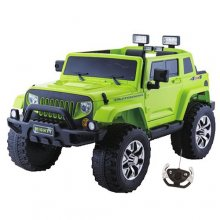 Kids Green 4x4 24v SUV Jeep with Suspension