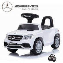 6V Official Ice White Mercedes GLS 63 Ride on Car with Remote