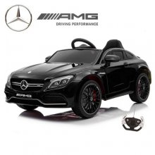 Kids Official Black 12v Mercedes C Class Coupe Car