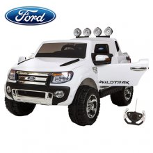 Limited Edition 12v Ice White Ford Ranger Kids Electric Jeep