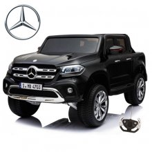 Black Licensed 4WD Mercedes X-Class 24v Kids Electric Jeep