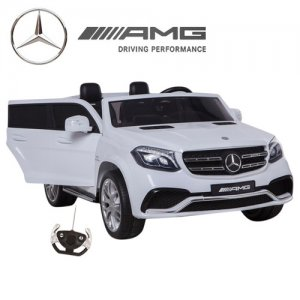 Official 2 Seat Large Mercedes 12v GLS Kids Ride On Jeep