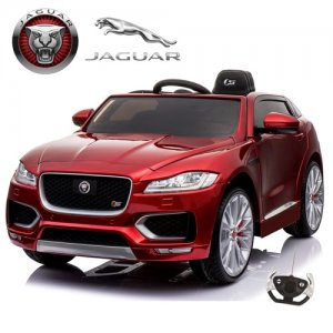 Special Edition Metallic F Pace 12v Jaguar Kids Jeep