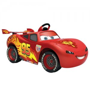 Disney Lightning Mcqueen Kids 6v Ride On Car
