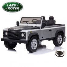 Special Edition 4WD Silver 2 Seat 24v Kids Land Rover Defender