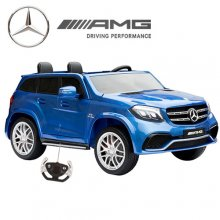 Metallic Blue Official Mercedes GLS63 24v Kids Big Electric Jeep