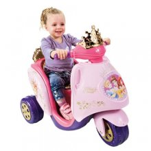 6v Disney Princess Pink Ride On Electric Trike