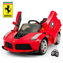 Kids Official Ferrari 12v LaFerrari FXX Track Car Ride On