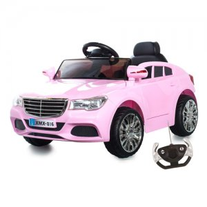 Mercedes C Class Style Pink Kids 12v Electric Car