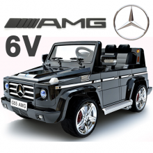 Official Mercedes G55 12v Kids Jeep with Remote & Rubber Tyres