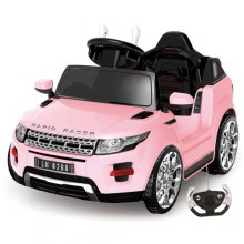 6v Girls Pink Sit-In Micro Evoque Style Jeep with Remote