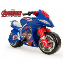 Official 6v Marvel Avengers Kids Ride On Electric Motorbike