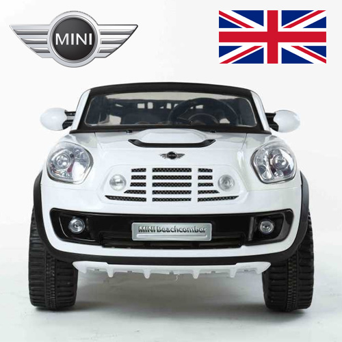 12V 2 Seat Licensed Mini Cooper Beachcomber Ride-Car with Remote - Click Image to Close
