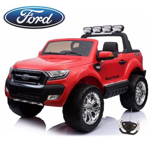 12v 2018 Official Ford Ranger 2 Seater Kids Electric Jeep - Click Image to Close