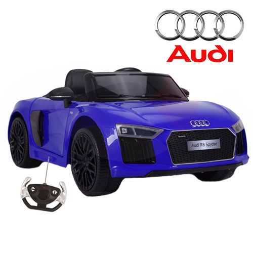 12v Audi R8 Spyder Coupe Licensed Ride On Car - Click Image to Close