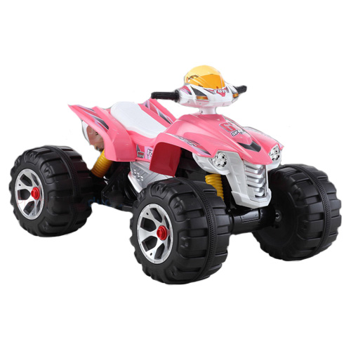 12v Big Wheel Ride-on Pink Girls ATV Quad Bike - Click Image to Close