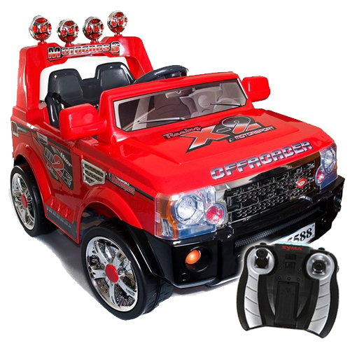 red range rover style 12v ride on battery jeep