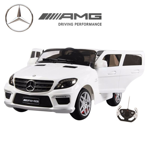 12v Ride-on Licensed Mercedes ML63 AMG Jeep with Remote - Click Image to Close