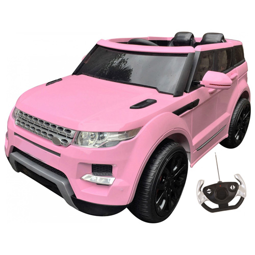12v Rangie HSE Girls Pink 4x4 Electric Ride On Jeep - Click Image to Close