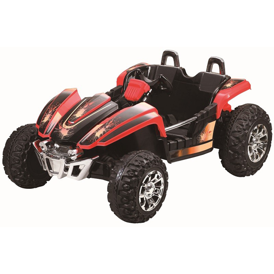 12v Kids Two Seater Off-Road Racing Dune Buggy - Click Image to Close