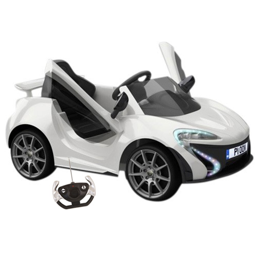 12v Ride On Neon Lights Compact Sports Car with Remote - Click Image to Close