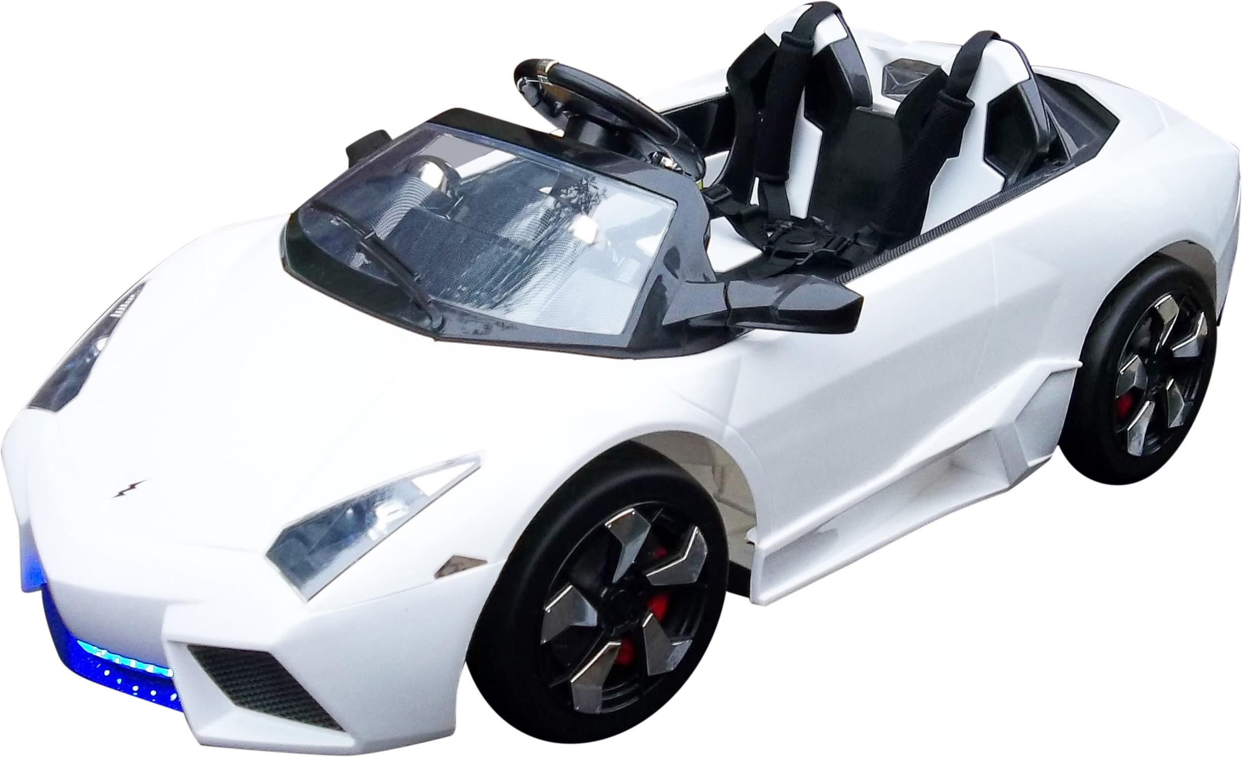 Lamborghini Electric Car For Kids >> 12v Two Seat Lambo Gini Mega Features Ride On Car 279 95 Kids