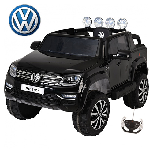 12v Volkswagen Amarok Kids Large Seat Ride On Jeep - Click Image to Close