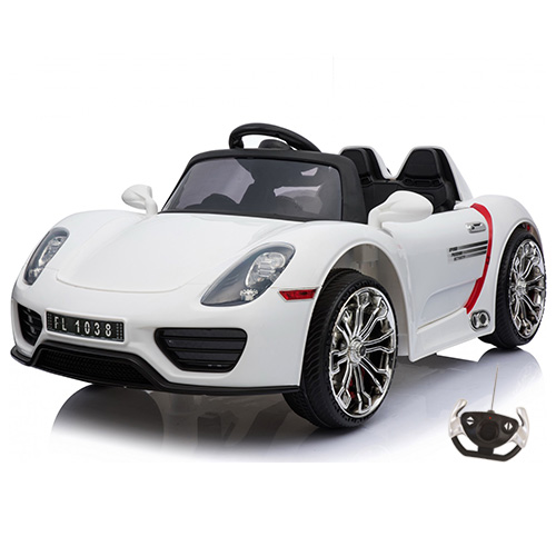 12v Porsche 918 Supercar Style Kids Ride On Car - Click Image to Close