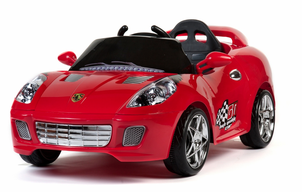 photos home 6v ride on toys ferrari cali style red kids sports car