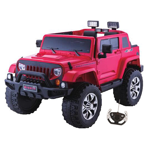 Cool Monster Truck 24v Kids Electric Jeep with Suspension - Click Image to Close