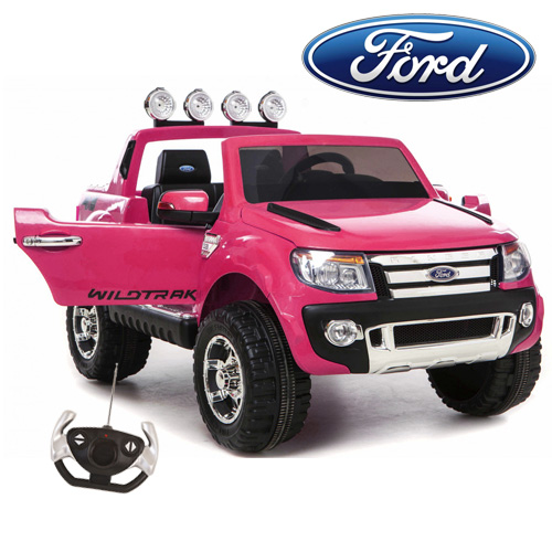 Girls Limited Edition Pink Licensed Ford Ranger Ride On Jeep