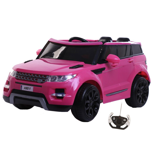 12V Kids Ride on Car Toys Jeep Battery Powered Wheel Music Remote Control Pink