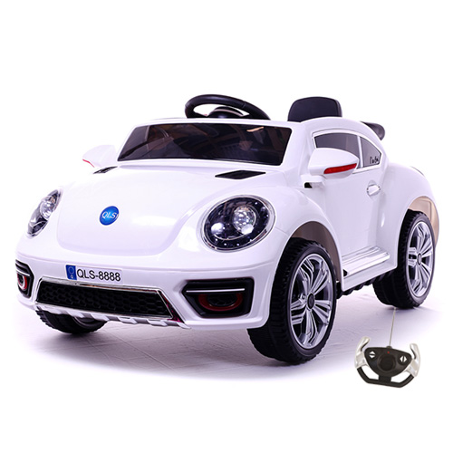12v New Beetle Style Ride-in Car Convertible with Remote - Click Image to Close