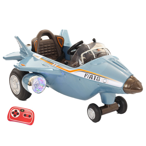 12V Kids Battery Powered Ride-in Fighter Electric Jet Plane - Click Image to Close