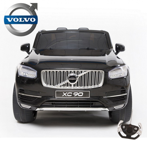 Kids 12v Volvo XC90 Luxury Ride On Car with Leather Seats - Click Image to Close