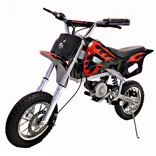 Kids 24v 350w Motocross Electric Ride On Bike - Click Image to Close